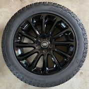 Genuine Range Rover Style 1065 20 Alloy Wheels And Grabber At3 Tyres X4