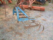 Heavy Duty Large 7 Spring Plow, 3 Point 5 Ft.