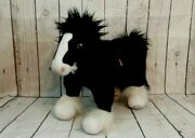 Disney Store Brave Doll Plush Angus Black Clydesdale Horse Stuffed