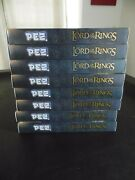Pez Collector Series The Lord Of The Rings Lot Of 8 Dispenser Eye Of Sauron New