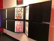 Tattoo Flash Art Rack Panels 360 Double Sided With Wall Mounts And Flash Sheets