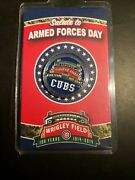 Wrigley Field Stadium Giveaway 2014 - Armed Forces Chicago Cubs Rare
