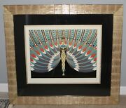 Erte 1982 The Nile Signed/numbered Frame Limited Edition Rare 231/300 Art Print