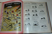Vtg 1941 Hardware Catalog Stanley Tools/everything For Home And Farm Wholesale