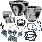 Sands Cycle Sportster Hooligan Engine Kit 1200 Cc To 1250 Cc - Silver 910-0609
