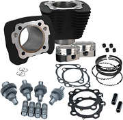 Sands Cycle Sportster Hooligan Engine Kit 883 Cc To 1200 Cc - Black 910-0606