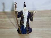 Westland Gandalf Lord Of The Rings 6 1/2 Tall Figure Holding Staff Great Shape