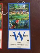 2000 82nd Pga Championship Complete Weekly Ticket Set Tiger Woods Major Win