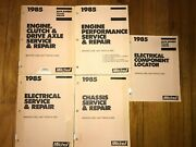 Mitchell 1985 5-part Service / Repair Manuals For Imported Cars, , Trucks