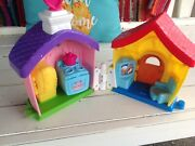 Fisher Price Little People Disney Mickey Minnie Mouse Donald Duck House Wow