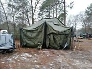 Military Tent Modular General Purpose Tent System Mgpts Gp Small 18x18 M151