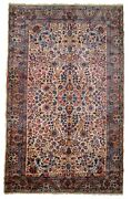 Handmade Antique Oriental Rug 4.2and039 X 6.9and039 128cm X 210cm 1920s - 1b781