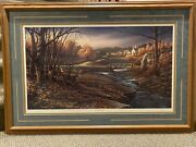 """""""indian Summer"""" Signed Limited Edition Art By Terry Redlin. 1988."""