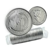 1999 Canadian 25-cent December This Is Canada Millennium 25¢ Original Coin Roll