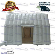 13x13ft Commercial Inflatable Waterproof Isolation Tunnel Tent With Air Blower