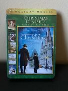Sealed New Christmas Classics Collection Dvd 2013 2-disc Set Tin Case