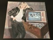 Joni Mitchell Rare In Person Hand Signed Wild Things Run Fast Vinyl Cover W/lp