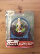 The Simpsons Clown Homer Homer And Krusty From Mcfarlane Toys