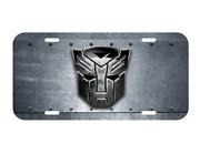 Transformers Vehicle License Plate Front Robot New Autobots Decepticons New