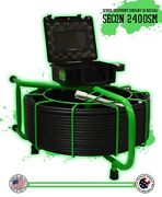 200' Usa Made Secon-2400sm Sewer Camera Pipe Drain Inspection 512hz Sonde