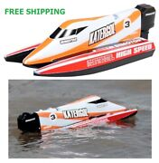 Speed Rc Boat 2.4ghz 30km Racing Remote Control 4 Channel Radio Outdoor Charging