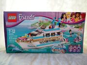 Lego Friends 41015 Dolphin Cruiser Box Set-missing Mia Doll-ages 7-12