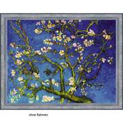 Riolis Counted Cross Stitch Kit Almond Blossom After V. Van Goghand039s Painting Diy