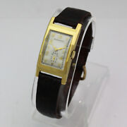 Vintage Movado 510 Ref. 41808 Manual 14k Yellow Gold Wristwatch 1940and039s