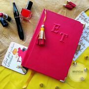 Personalised Notebook Handmade Genuine Leather Diary/notepad/planner A5 Preorder