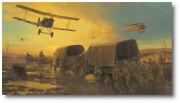 Hellfire Corner By Anthony Saunders - Third Battle Of Ypres - A/p -aviation Art