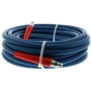 Neptune 4500 Psi 3/8 X 100and039 Blue Hose 100 Ft Pressure Washer Hose