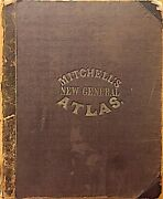 Mitchelland039s New General Atlas 84 Maps And Plans Complete And Original 1864