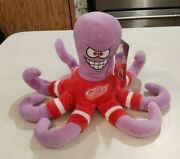 Forever Collectibles Nhl Detroit Red Wings Mascot Rally Al Octopus Preowned