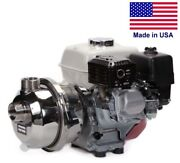 Centrifugal Potable Water Pump - 180 Gpm - 6 Hp Gas Briggs - 1.5 Fbsp And 2 Mbsp