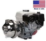 Centrifugal Potable Water Pump - 180 Gpm - 6 Hp Gas Briggs - 1.5 Fnpt And 2 Mnpt