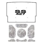 Hood Insulation Pad Cover For 76 Chevrolet El Camino Acoustihood Kit W/g-ss427