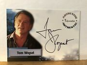 A-36 Tom Wopat Smallville Autograph Card Inkworks