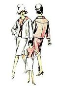 207 Two 3 Piece Suit Pattern For Fashion Dolls Barbie Or Tonner Dolls