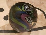 Rollin Karg Large Studio Art Glass Sculpture Signed And Dated 2004 Mint Heavy