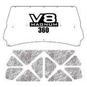 Backorder Only Hood Insulation Pad Heat Shield For 94-02 Dodge 2500/3500 W/ Me