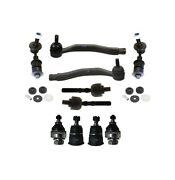 12 Pc New Tie Rods Shock Mount Bushing Sway Bar Ball Joint Kit For Honda Prelude