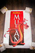 Mulan Style A 27 X 40 Rolled Us One Sheet Movie Poster Sticker Original 1998