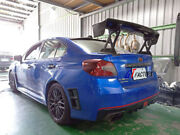 All Carbon V Style Rear Trunk Gt Wing Spoiler For 2015+ Subaru Wrx And Wrx Sti