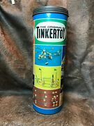 Vintage The Original Tinkertoy No.146. Container Is In Excellent Condition.wow