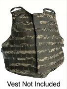 Digital Camo Paintball/hunting Vest Axillary/shell Parts Deltoid/crotch Only 5pc