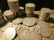 Five Barber Half Dollars 1900-1915 Dates Our Choice 5 Coins Good+ We10