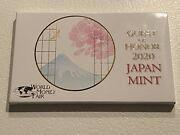 2020 Annual Japan Mint Set, Silver Medal, World Money Fair, Special Only 500