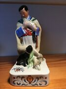 Herend Figurine Over A Hundred Years Old One Of A Kind True Collectorand039s Item