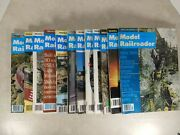 Model Railroader Magazine 1977 Complete Year 12 Issues T6-2