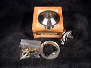 Nos 3405 Grant Chrome Horn Kit- Fits 1955-1971 Jeep Cjand039s And 1961-1968 122 Volvoand039s